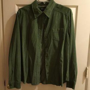 Eddie Bauer lightweight corduroy shirt